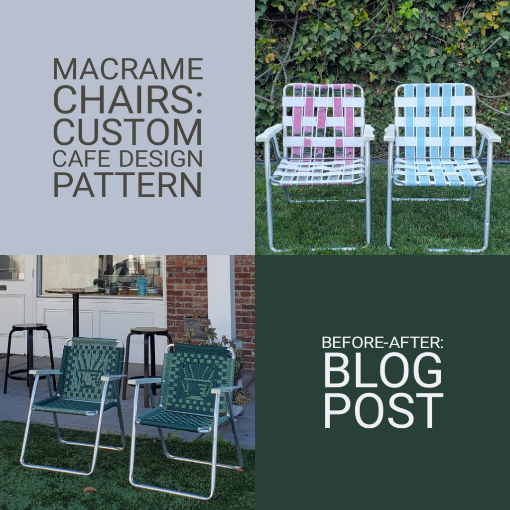 3 Helpful Tools You Need To Create Your Own Macrame Chair With Custom Cafe Logo Finish Your Crafts